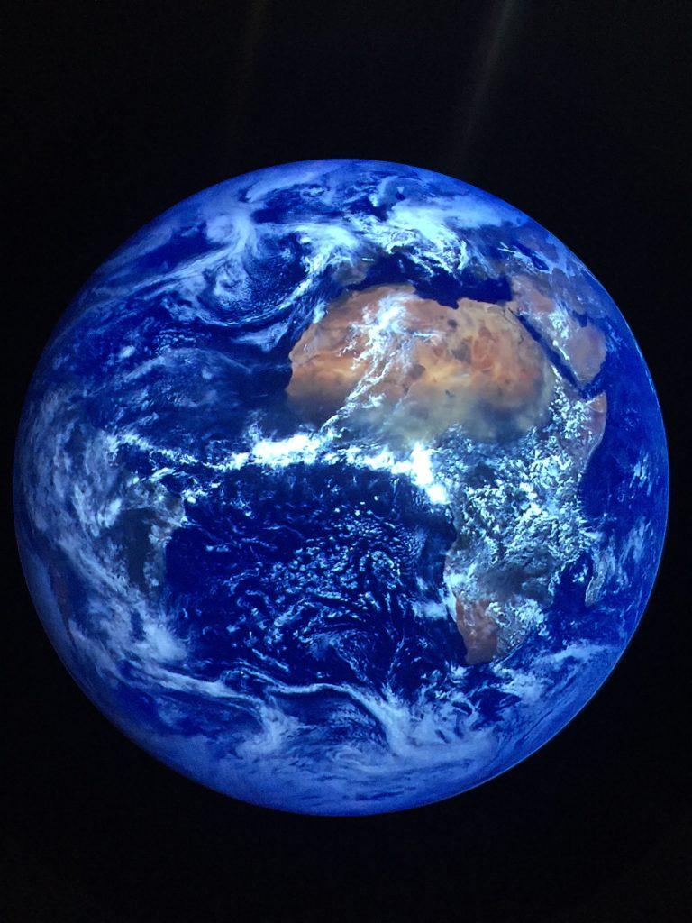 好美的地球